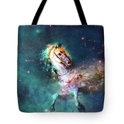 Free Of The Carousel Tote Bag