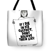 Free The Children Drawing Tote Bag