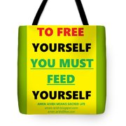 Free Yourself Tote Bag