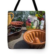French Pottery Tote Bag