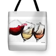 French Wines Tote Bag