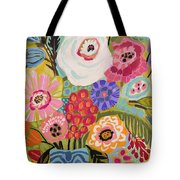 Fresh Flowers In Vase II    Tote Bag