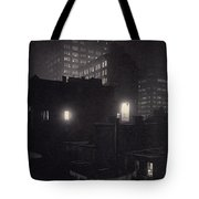 From The Back Window, 291 Ny Winter Tote Bag