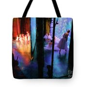 Front Stage, Back Stage Tote Bag