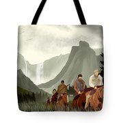 Frontier Trail Tote Bag