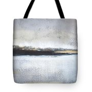 Frozen Winter Lake Tote Bag
