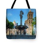 Fuente De Puebla Tote Bag
