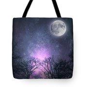 Full Moon Night Magic Tote Bag