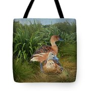 Fulvous Whistling Ducks  Tote Bag