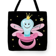 Fun Pacifier Fairy Tshirt For Girls To Get Rid Of Pacifiers Tote Bag