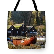Funicular Railway East Cliff Hastings Tote Bag