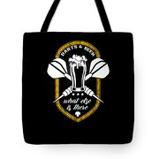 Funny Dart Player Darts And Beer Lovers Tote Bag