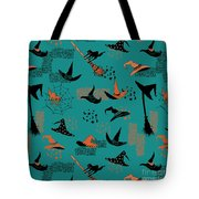 Funny Witch Hats Art Tote Bag