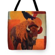 Fur And Feathers Tote Bag
