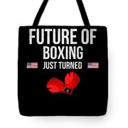 Future Of Boxing Just Turned 8 Tote Bag