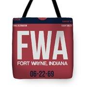 Fwa Fort Wayne Luggage Tag II Tote Bag