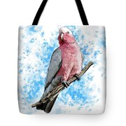 G Is For Galah Tote Bag