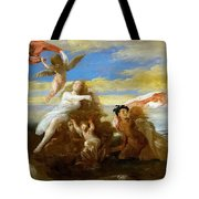 Galatea And Polyphemus  Tote Bag