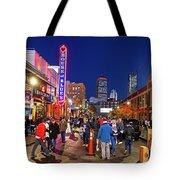 Game Night On Lansdowne Street 2018 World Series Red Sox Boston Ma 2 Tote Bag