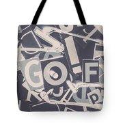 Game Of Golf Tote Bag