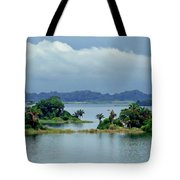 Gatun Lake Islands Tote Bag