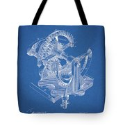 Gear Patent Design Tote Bag