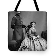 General Custer And His Wife Libbie Tote Bag