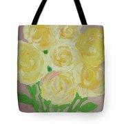 Gentle Yellow Bouquet Tote Bag