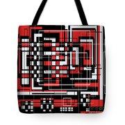 Geometric Stylization 2 Tote Bag