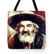 George Gabby Hayes, Vintage Actor Tote Bag