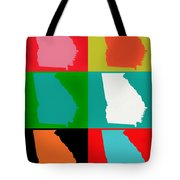 Georgia Pop Art Tote Bag