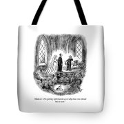 Getting Information Tote Bag