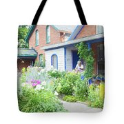 Getting Ready For Buffalo's Garden Walk 2019 Tote Bag
