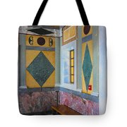 Getty Center Interior Malibu California  Tote Bag