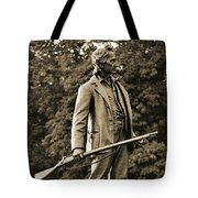 Gettysburg Battlefield - John Burns Tote Bag