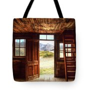 Ghost Town Cabin Tote Bag