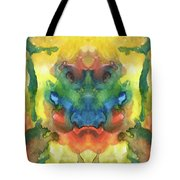 Ghost - Watercolor Painting On Paper Tote Bag