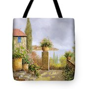 Giallo Morbido Tote Bag by Guido Borelli