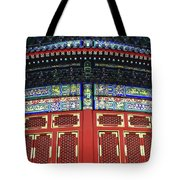 Gilded Dragons Vault Of Heaven Tote Bag