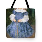Girl With Jumping Rope, 1876 Tote Bag