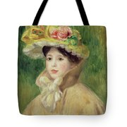 Girl With Yellow Cape, 1901 Tote Bag