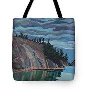Gitchi-gami Cove Cliff Tote Bag