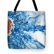 Give More, Take Less Tote Bag by Annie Young Arts