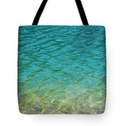 Glacial Depths Tote Bag