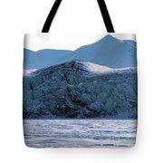 Glacier Cracked Under Pressure Tote Bag