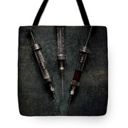 Glass And Steel Trio Tote Bag