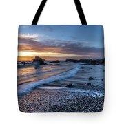 Glass Beach Sunset Tote Bag