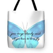 Go Fly Quote Tote Bag
