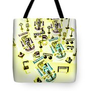 Go-kart Art Tote Bag
