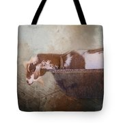 Goat In A Bucket Tote Bag
